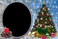 marcos para fotos arbol de navidad