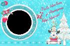 tarjeta feliz navidad y prospero ano nuevo
